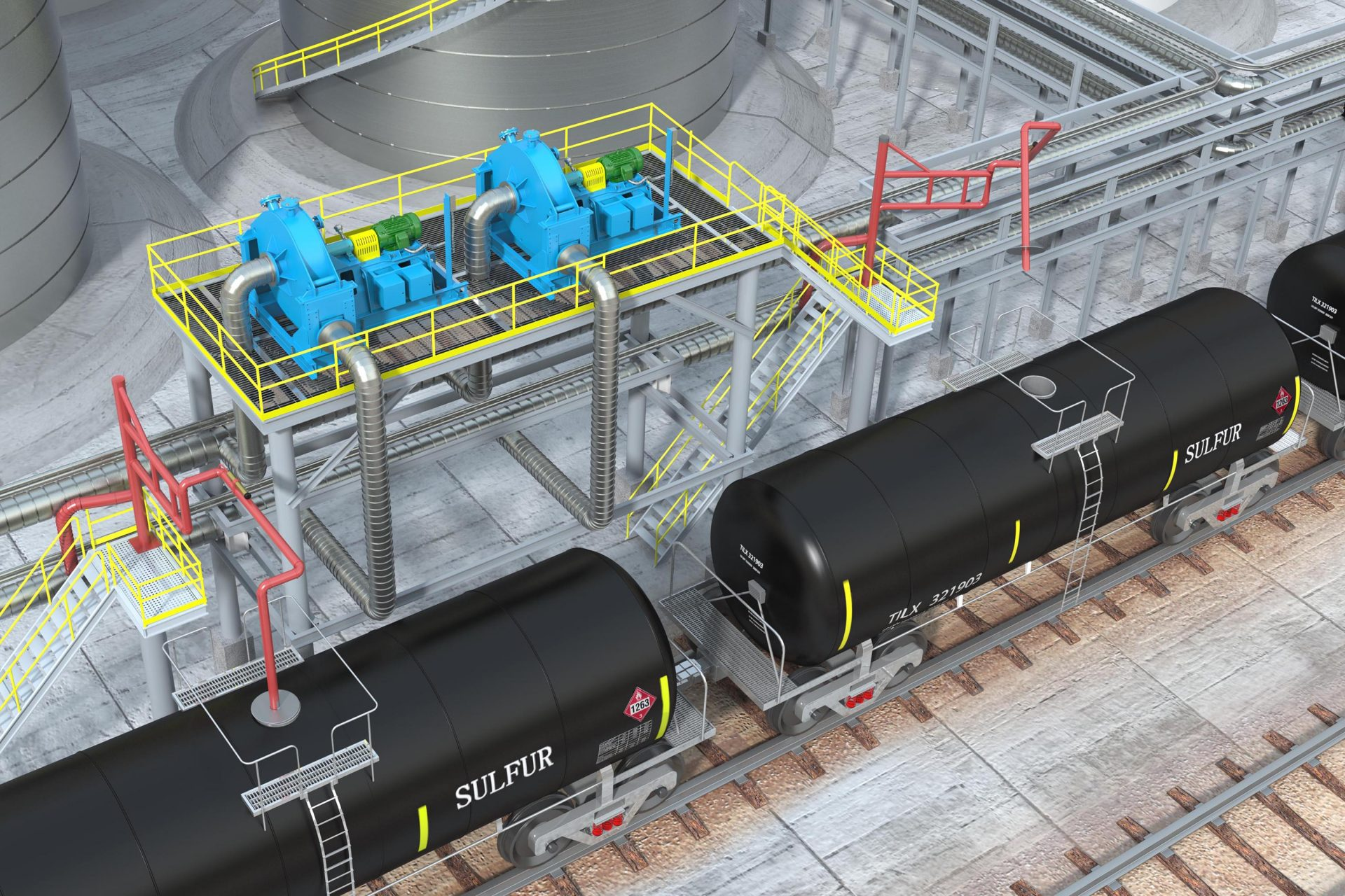 HRO Sulfur Recovery Unit