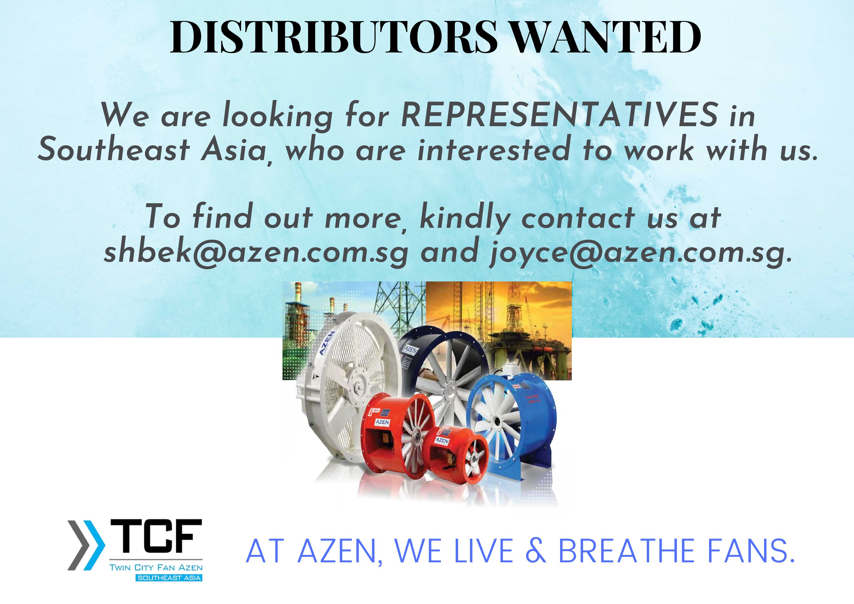 Looking for Distributors in Southeast Asia